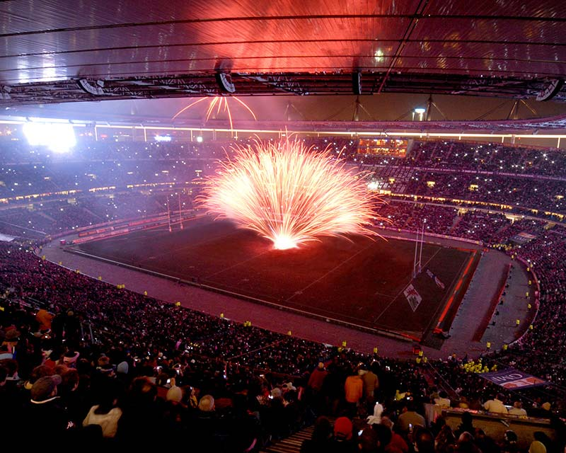 Ruggieri Pyrotechnie Sports Events